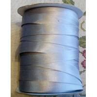 Коса бейка атласна, (сірого   кольору) 1.5см