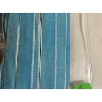 Тасьма велюрова, ширина 1.5 см (блакитного   кольору)