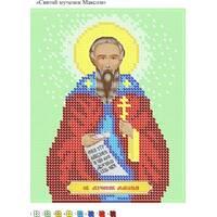 Схема для вишивки бісером  Св. Мученик Максим