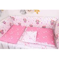 Тонкі борти захист в ліжечко з Феями і зірками