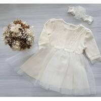 Платье+повязка   ТМ Нарру ТоТ 80
