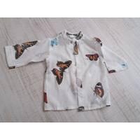 Рубаха для пляжа (марлевка)  ТМ Family Pupchik 110, Белый