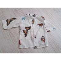 Рубаха для пляжа (марлевка)  ТМ Family Pupchik 80, Белый
