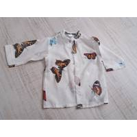 Рубаха для пляжа (марлевка)  ТМ Family Pupchik 74, Белый