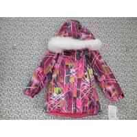Термо куртка зима ТМ Garden Baby 116, Малиновый