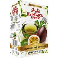 """Чай """"Livingston Harvest"""" 90г Зеленый Маракуйя (1/48)"""