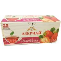 "Чай ""Azercay bags"" ф/п 25*1,8г Клубника (1/24)"
