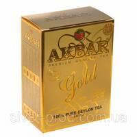 """Чай """"Акбар"""" 250г Голд (1/40)"""