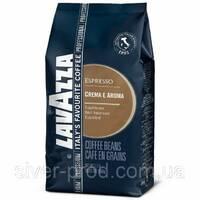 "Кофе ""Lavazza"" зерно Crema e Aroma Esspresso 1кг СИНЯЯ (80% арабіка, 20% робуста) (1/6)"