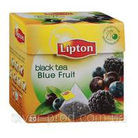 "Чай ""Ліптон"" 20п*1,7г Лесные Ягоды (Blue Fruit) пирамидка (1/12)"