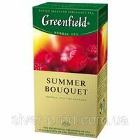 """Чай """"Грінфілд"""" 25п*2г Травяной Summer Bouquet (Малина) (1/10) 626"""
