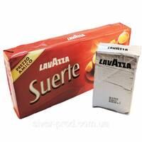 """Кофе """"Lavazza"""" мелена SUERTE 4пачки*250г вакуум ОРИГИНАЛ (1*4/5)"""