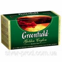 """Чай """"Грінфілд"""" 25п*2г Черный Golden Ceylon (1/10) 619"""
