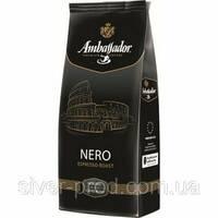"""Кофе """"Амбассадор"""" зерно NERO 1кг Espresso Roast (ЧЕРНАЯ) (1/6)"""