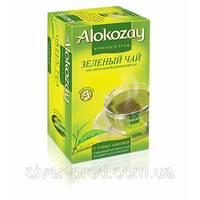 "Чай ""Alokozay Tee"" 25п*2г Зеленый КОНВЕРТ (1/24)"