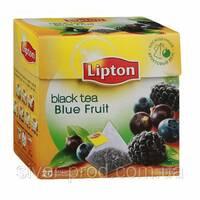"""Чай """"Ліптон"""" 20п*1,8г Ерл Грей черный с бергамотом пирамидка (1/24) &"""