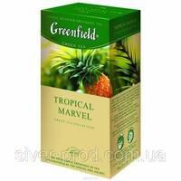"""Чай """"Грінфілд"""" 25п*2г Зеленый Tropical Marvel (Тропические фрукты) (1/10) 648"""