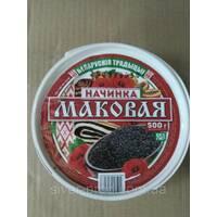 """Маковая начинка 500г """"Беларускія Традыцыі"""" ведро (1/12)"""