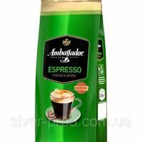 """Кофе """"Амбассадор"""" зерно Espresso 1кг (зеленая) (1/6)"""