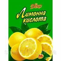 """""""ПРОТИВЕНЬ"""" Лимонная кислота 20г (1*20/160)"""