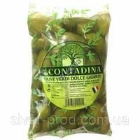 Оливки зелены с косточкой 850г La Contadina М/В (1/10)