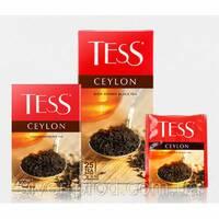 """Чай """"Тесс"""" 90г Ceylon, black [черный высокогорный] (1/15) 5202"""