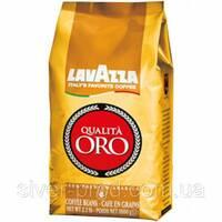 """Кофе """"Lavazza"""" зерно Qualita Oro 1кг золотистая (100% арабіка) (1/6)"""