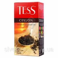 """Чай """"Тесс"""" 25п*2г Ceylon, Black [Черный Высокогорный] (1/24) 5313"""