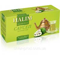"Чай ""Halim"" 25п*1,5г Зеленый Саусеп (1/18)"