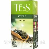 "Чай ""Тесс"" 25п*2г Style, Green [Зеленый Китайский] (1/24) 5353"