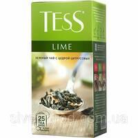 "Чай ""Тесс"" 25п*1,5г Lime, Green [Зеленый с Лимоном] (1/24) 536"