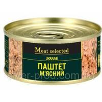Паштет Meat Selected 100г Мясной (говядина свинина) ключ же/бы (1/48)