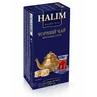"""Чай """"Halim"""" 25п*1,5г Черный КОНВЕРТ (1/12)"""