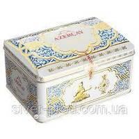 """Чай """"Azercay"""" 250г же/бы СИНЕЙ Сундук Набор: Чай черный бергамот   Чай зеленый лимон (1/20) &"""