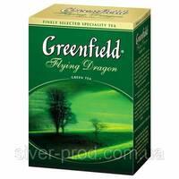 """Чай """"Грінфілд"""" 100г Зеленый Flying Dragon (1/14) 667"""