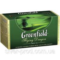 """Чай """"Грінфілд"""" 25п*2г Зеленый Flying Dragon (1/15) 622"""