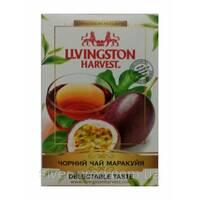 """Чай """"Livingston Harvest"""" 90г Черный Маракуйя (1/48)"""