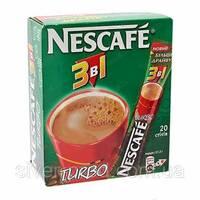 """Кофе """"Нескафе"""" 3в1 Turbo NEW RECIPE 13г стек (1*20/24)"""