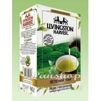 """Чай """"Livingston Harvest"""" 90г Зелен (1/48)"""