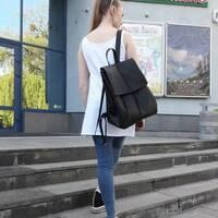 Женский рюкзак Sambag Loft LA черный