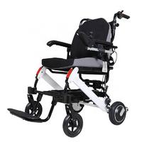 Легкая складная электроколяска для инвалидов MIRID D6033