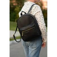 Женский рюкзак Sambag Brix BSG черный