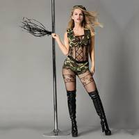 Еротичний рольовий костюм-милитари Небезпечна Дейзи