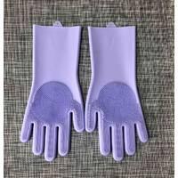Силиконовые перчатки для мытья и чистки