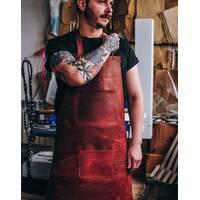 Кожаный фартук для бариста   бармена   барбера