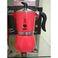 Гейзерная кофеварка Bialetti Fiammetta Mалиновая (3 чашки - 170 мл)