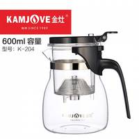 Чайник заварочный с кнопкой Kamjove K-204, 600 мл