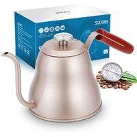 Чайник с градусником для заваривания кофе | Sulives | 1,2 л