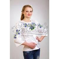 Блузка-вишиванка жіноча вишита бісером ЖБ019кБ5004