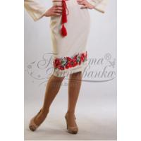 Спідничка жіноча вишита вручну хрестиком ЖС038дМнн01